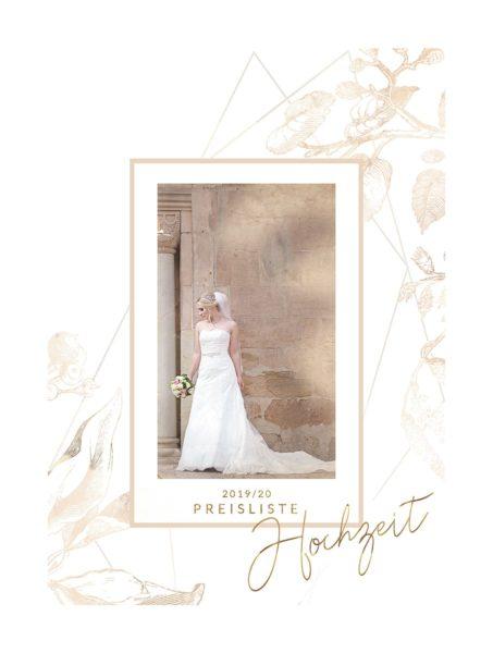 Preisliste für Hochzeitsfotografie